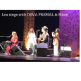Lea sings with Deva Premal !