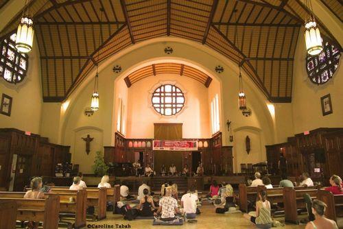 Montreal Chant Fest Loyola Chapel